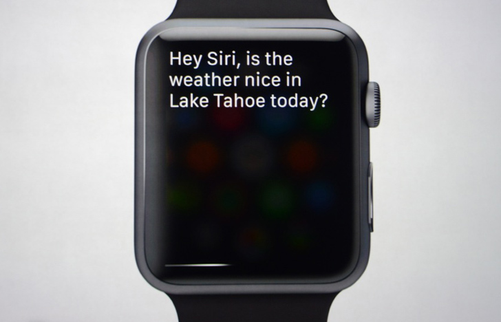 A Watch Made in Heaven for Siri